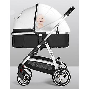 Ultra Light Foldable High Landscape Baby Stroller With Aluminum Frame