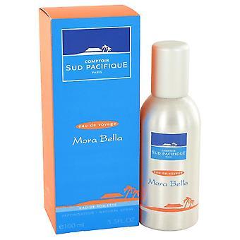 Comptoir Sud Pacifique Mora Bella Eau De Toilette Spray By Comptoir Sud Pacifique 3.4 oz Eau De Toilette Spray