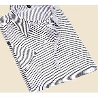 Twill stripete formelle menn kjole skjorter