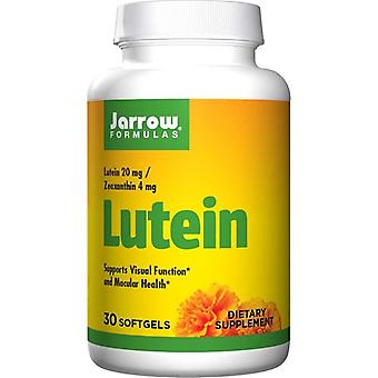Jarrow Formulas Lutein 20mg Softgels 30