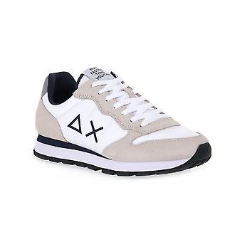 Sun68 01 tom solid nylon white sneakers fashion