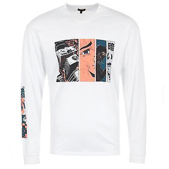 Edwin Apollo Thomas Long Sleeve T-Shirt - White