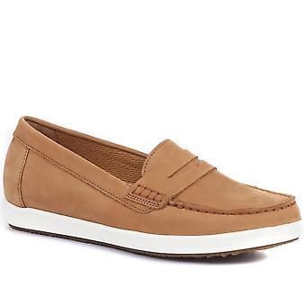 Gabor Womens Vital Leder Penny Loafers