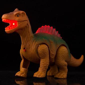 Sähköinen kävelevä dinosaurus lelu (satunnainen väripituus)