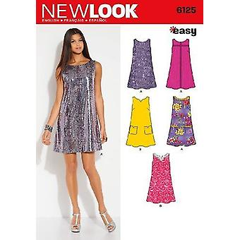 New Look Sewing Pattern 6125 Misses Dress Sizes 10-22 A