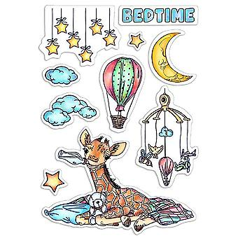 """Ciao Bella 4""""x6"""" Stamps - Bedtime"""