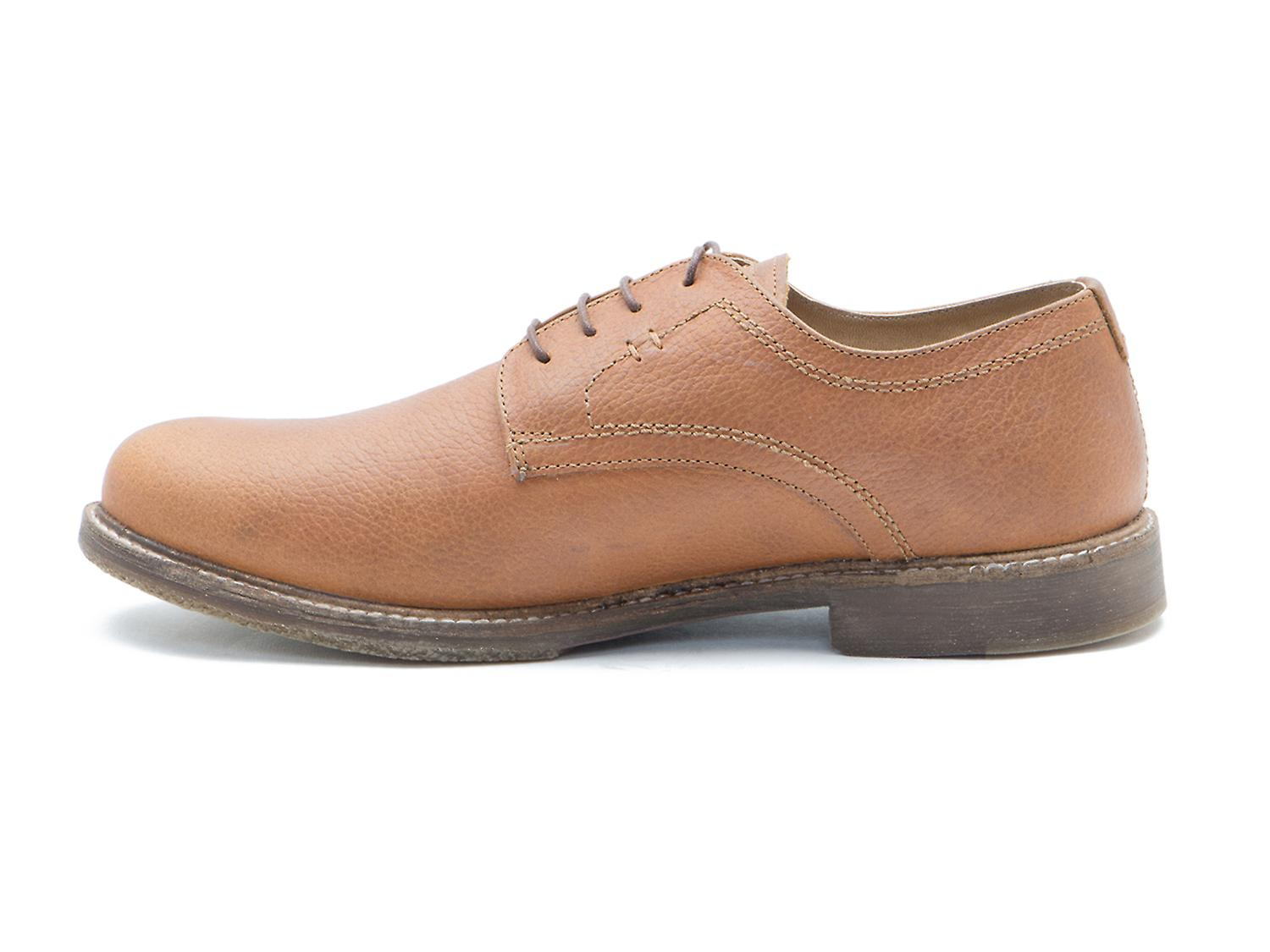 Red Tape Marlow Tan Milled Leather Formal Mens Derby Shoes