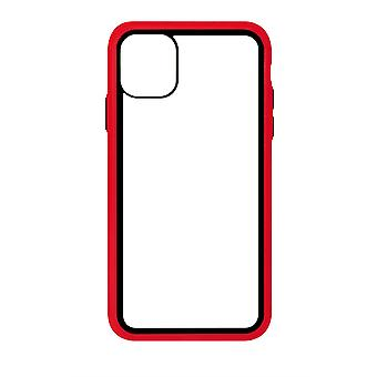 Phone Case (Red) Clear ShockProof Soft TPU Silicone For iPhone 11