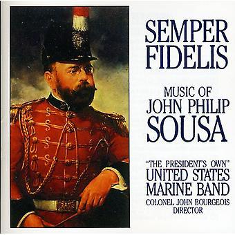 Sousa - Semper Fidelis: The Music of John Philip Sousa [CD] USA import