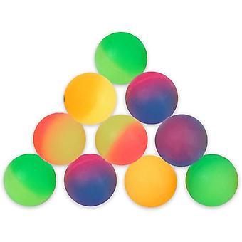 FengChun 10 Stck Flummis Frost 27mm Flummi Springball Hpfball Mitgebsel Tombola Kindergeburtstag