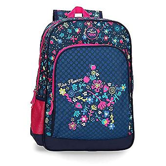 MOVOM Nice Flowers Backpack 42 centimeters 16.93 Multicolor (Multicolor)