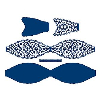 Tattered Lace Prodigious Bow Die Set