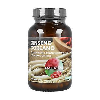 Korean ginseng 120 capsules