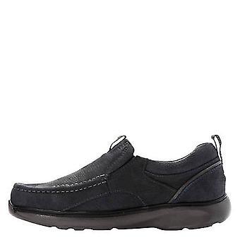 Propét Mens Owen Leather Closed Toe Slip On Shoes