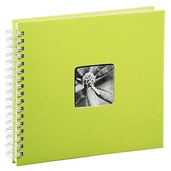 Hama Fine Art Spiral Bound Album, 28 x 24 cm, 50 White Pages | Kiwi