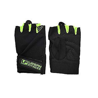Urban Fitness Training Handschuh Medium Schwarz/Grün
