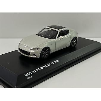 Mazda Roadster RF RS White Silver 2016 1:64 Scale Kyosho 7068A5