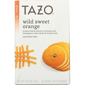 Tazo Tea Bag Wild Swt Orange, Case of 6 X 20 Bags