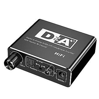 Пакет 4 цифро-аналоговый оптоволоконный преобразователь, аудио декодер с разъемом 3,5 мм az10481