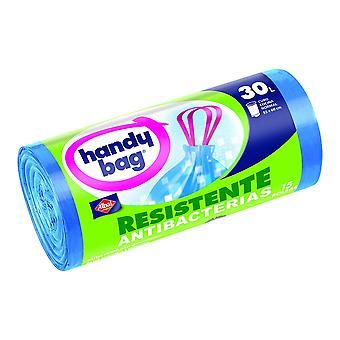 Müllsäcke Handy Bag Tropf Antibakteriell (15 x 30 L)