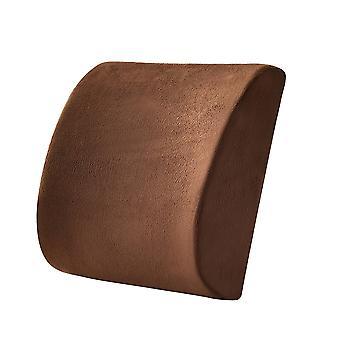 Everlasting Comfort Lumbar Support Pillow for Office Desk Chair-Memory Foam Back Cushion