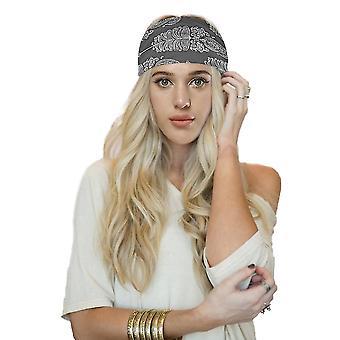 Rekbare zweetabsorberende hoofdband snel droog voor Yoga Running Color5