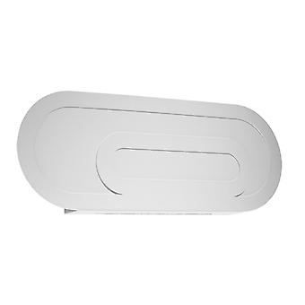 Sollux SACCON SL.0931 Flush Lampada da parete moderna Bianco G9