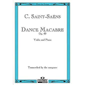 Dance Macabre (Op. 40) (Camille Saint-Saëns) Violin, Book Only, Fentone Music