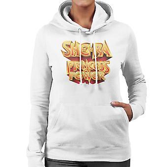 She-Ra Gold Princess Of Power Women's Hooded Sweatshirt