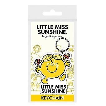 Little Miss Rubber Little Miss Sunshine Keyring