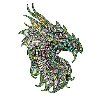 Children's guardian dragon wooden puzzle toy A5