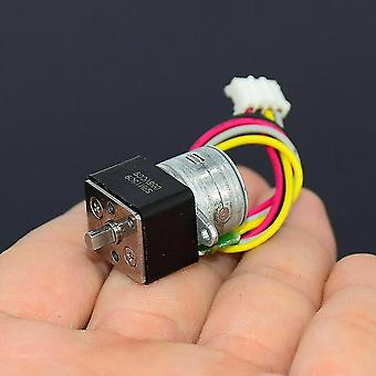 2 Phase 4 Wire Mini Full Metal Gear Stepper Stepping Motor Micro Gearbox