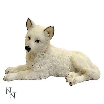 Winter Wolf Pup Figurine