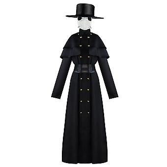 Robe Knight Fancy Cool Cosplay kostým Halloween Doctor Crow Kostým