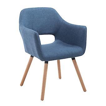 Esszimmerstuhl - Esszimmerstühle - Küchenstuhl - Esszimmerstuhl - Modern - Blau - Holz - 62 cm x 60 cm x 85 cm