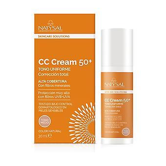 Cc cream vitamin c 50+ 30 ml of cream