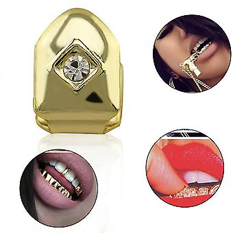 Hip Hop Single Tooth Bling Tooth Caps Body Jewelry Christmas Party Gift