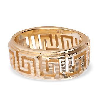 Royal Bali Collection 9K Gelbgold griechischSchlüsselanhänger für Frauen