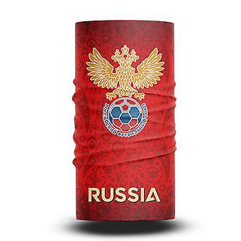 ネックガイターズフットボールヘッドスカーフワールドカップファン男性と女性多機能カラースポーツライディング日焼け止めビブ - ロシアチーム