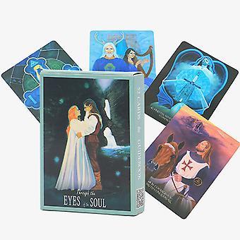 Eyes Of The Soul Tarot Card Carte de jeu de société Oracle
