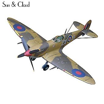 Qian 1:32 Diy 3d Supermarine Spitfire Ixc Type Model Work Puzzle Game Diy Kid Toy|aircraft Paper Model