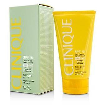 Clinique rosto/corpo creme SPF 15 UVA/UVB-150ml/5oz