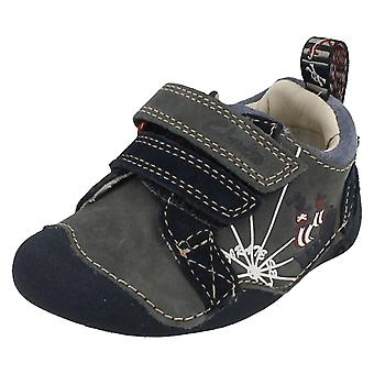 Boys Clarks First Shoes Infant Cruiser Ship Casual Shoes
