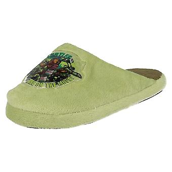 Boys Teenage Mutant Ninja Turtles Slippers