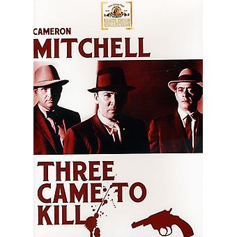 Three Came to Kill [DVD] USA import
