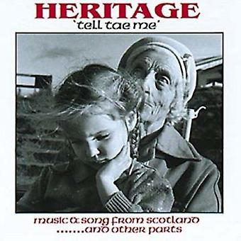 Heritage - Tell Tae Me' [CD] USA import