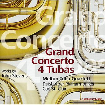 Stevens - John Stevens: Grand Concerto 4 Tubas [CD] USA import