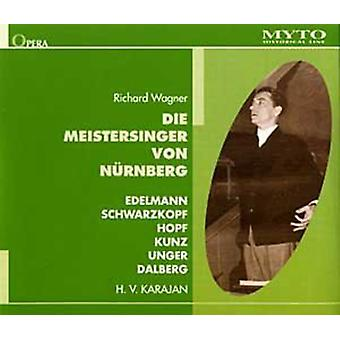 Wagner / Edelmann / Schwarzkopf / Hopf / Pflanzl - Die Meistersinger Von Nurnberg [CD] USA import