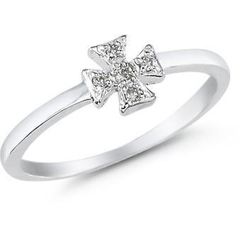 Maltezer Kruis Diamond Ring