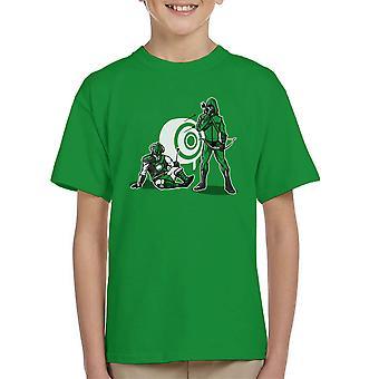 The Accident Green Arrow Skyrim Dragonborn Kid's T-Shirt